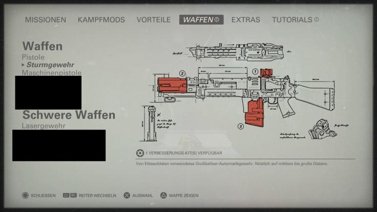 wolfenstein 2 waffen